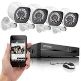 Zmodo SPoE Security System -- 4 Channel NVR & 4 x 720p IP Cameras with No Har... - Chickadee Solutions - 1