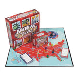Trivia Game - American Trivia Family Edition - the America Themed Family Boar... - Chickadee Solutions
