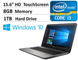 "2016 NEW HP Pavilion 15.6"" Signature Edition Touchscreen Premium Laptop PC 6t... - Chickadee Solutions - 1"