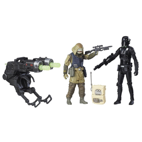 Star Wars Rogue One Imperial Death Trooper & Rebel Commando Pao Deluxe - Chickadee Solutions - 1