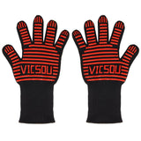 Vicsou Updated 932F Heat Resistant Gloves 3-layer Structure Heatproof Firepro... - Chickadee Solutions - 1