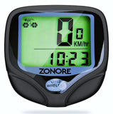 Bike Computer By Zonore - Original Wireless Bicycle SpeedometerBike Odometer ... - Chickadee Solutions - 1