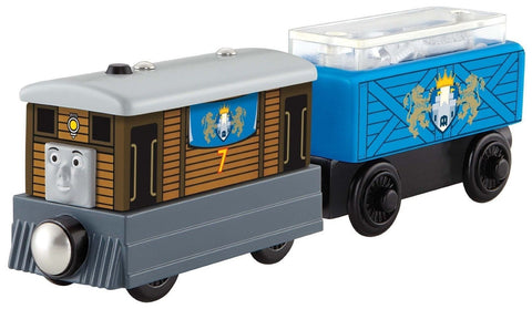 Fisher-Price Thomas Wooden Railway - Toby's Royal Cargo Car - Chickadee Solutions - 1