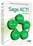 Sage ACT! Pro 2011 [Old Version] - Chickadee Solutions
