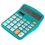 Calculator Helect Standard Function Desktop Calculator (Blue) - H1001B Blue - Chickadee Solutions - 1