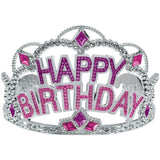Amscan Majestic Birthday Gem Tiara Party Wearable Favours Headwear (Pack Of 1... - Chickadee Solutions