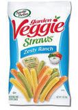 Sensible Portions Garden Veggie Straws Zesty Ranch 1 Ounce (Pack of 24) - Chickadee Solutions - 1