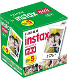 Fujifilm Instax Mini Instant Film 10 Sheets5 Pack(Total 50 Shoots) - Chickadee Solutions - 1
