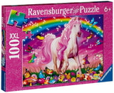 Ravensburger Horse Dreams - 100 Piece Glitter Puzzle - Chickadee Solutions - 1