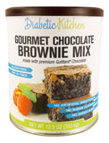 Diabetic Kitchen Gourmet Chocolate Brownie Mix Makes The Moistest Fudgiest Br... - Chickadee Solutions - 1