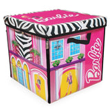 Neat-Oh! Barbie ZipBin 40 Doll Dream House Toy Box & Playmat - Chickadee Solutions - 1