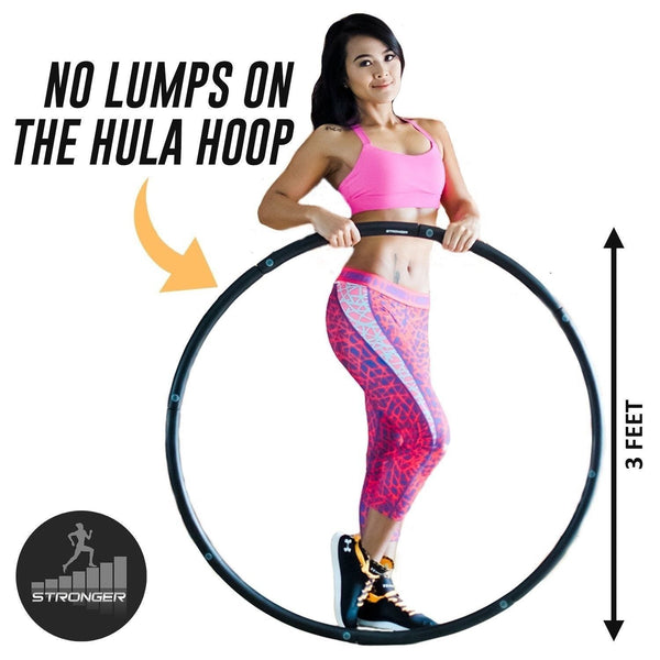 stronger weighted hula hoop best home exercise equipment. Black Bedroom Furniture Sets. Home Design Ideas