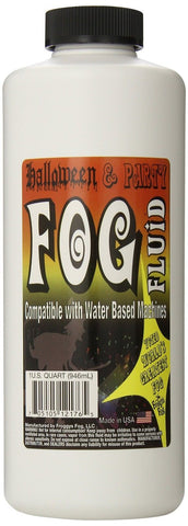 1 Quart (32 Oz.) - Halloween Party & DJ Fog Juice for Water Based Fog Machine... - Chickadee Solutions