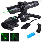 WNOSH Rifle Sight Tactical Power 532nm Green Dot Laser Scope with Picatinny R... - Chickadee Solutions - 1
