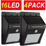 4Pack 16LED Super Bright Upgraded Sogrand Solar Motion Sensor Light Solar Sen... - Chickadee Solutions - 1