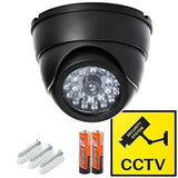 Dome Surveillance Security Dummy Imitation Camera Simulated Blinking LED Ligh... - Chickadee Solutions - 1