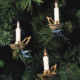 Kurt Adler 10-Light Candle with Gold Dish Light Set - Chickadee Solutions