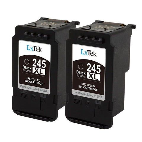 LxTek Remanufactured Ink Cartridge Replacement For Canon PG-245XL PG-245 245X... - Chickadee Solutions - 1