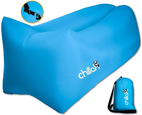 ChillaX Air Lounger - Inflatable Lounger Air Lounge Chair Beach Pool Air Bed .  sc 1 st  Chickadee Solutions : inflatable recliner - islam-shia.org