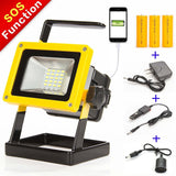 Sunzone 1600Lumens 10W 24LED Portable Outdoor LED Floodlight For Fishing Camp... - Chickadee Solutions - 1