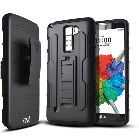 STARSHOP Heavy Duty Dual Layers Full Protection Hybird Case with Kickstand a... - Chickadee Solutions - 1