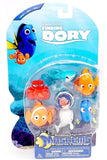 Tech4Kids Finding Dory Mash'ems Figure (6 Pack) - Chickadee Solutions - 1