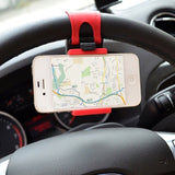 iTimo Universal Car Steering Wheel Mobile Phone Stand Holder Mount Clip Buckl... - Chickadee Solutions - 1