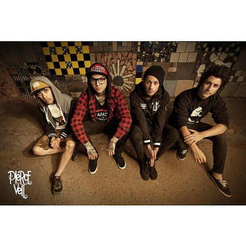(24x36) Pierce the Veil Music Poster - Chickadee Solutions