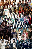 "Pierce The Veil Fabric Cloth Rolled Wall Poster Print -- Size: (36"" x 24"" / 2... - Chickadee Solutions"