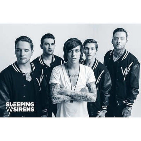 (24x36) Sleeping With Sirens Music Poster - Chickadee Solutions
