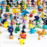 CNFT Pokemon Action Figures 144-Piece 2-3 cm (144 Piece All) - Chickadee Solutions