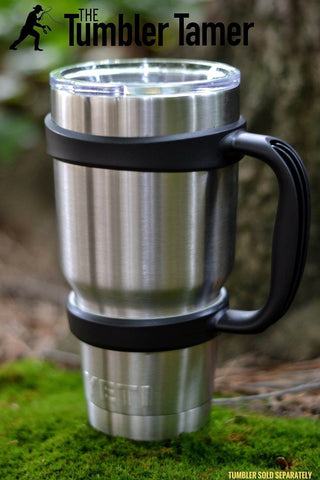 Handle for Yeti Rambler 30 Oz - TheThe Tumbler Tamer - fits RTIC Ozark SIC Th... - Chickadee Solutions - 1