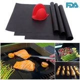 "GOLDEN V BBQ Grill Mat Set of 3 16"" X 13"" Nonstick Reusable Grilling Accessor... - Chickadee Solutions - 1"