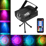 EAAGD Party Lights Strobe 7 color Ocean Wave Projector Stage Halloween Christ... - Chickadee Solutions - 1