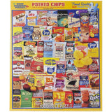 White Mountain Puzzles Potato Chips - 1000 Piece Jigsaw Puzzle - Chickadee Solutions - 1