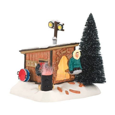 Department 56 National Lampoon Christmas Vacation Griswold Sled Shack - Chickadee Solutions - 1