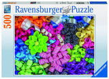 Ravensburger Colorful Ribbons Jigsaw Puzzle (500 Piece) - Chickadee Solutions - 1