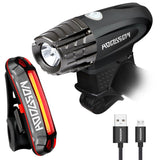 HODGSON Both USB Rechargeable Bike Light Super Bright 315 Lumens Front Light... - Chickadee Solutions - 1