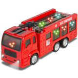 Best Choice Products Kids Toy Fire Truck with Electric Flashing Lights Siren ... - Chickadee Solutions - 1