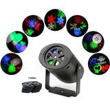 MINO ANT Rotating RGBW Projection LED Light 7PCS Switchable Lens Stage Lighti... - Chickadee Solutions - 1