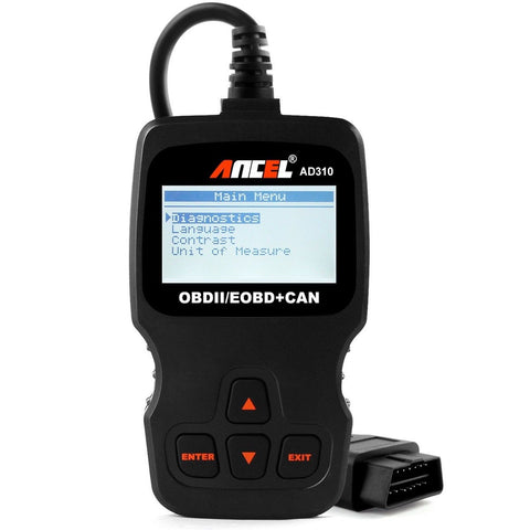 Ancel AD310 Classic Enhanced Universal OBD II Scanner Car Engine Fault Code R... - Chickadee Solutions - 1