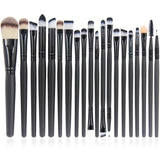 EmaxDesign 20 Pieces Makeup Brush Set Professional Face Eye Shadow Eyeliner F... - Chickadee Solutions - 1