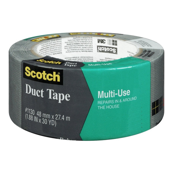 scotch multi use duct tape by 30 yard gray chickadee solutions. Black Bedroom Furniture Sets. Home Design Ideas