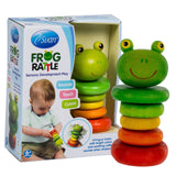 Frog Rattle by Svan - Made from All Natural Wood - Perfect for Baby Shower Gi... - Chickadee Solutions - 1