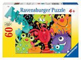 Ravensburger Monster Buddies Puzzle (60 Piece) - Chickadee Solutions - 1