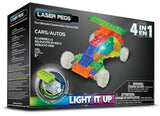 Laser Pegs 4-in-1 Cars Building Set - Chickadee Solutions - 1