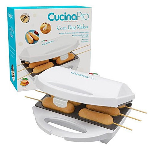 Hot Dog on a Stick Maker - Makes Perfect Corn Dogs Cheese on a Stick Cake Pop... - Chickadee Solutions - 1