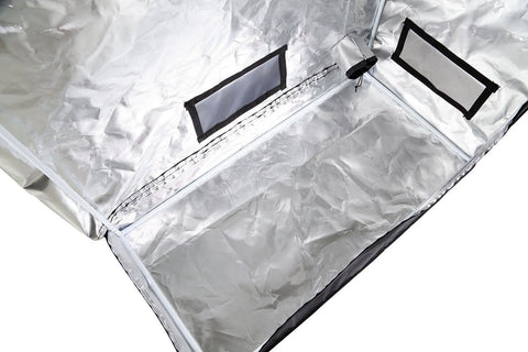 Ipower gltentxs1 mylar hydroponic grow tent for indoor for Mylar flooring