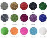 "Fame Crafts Glitter Heat Transfer Vinyl (HTV) 12"" x 10"" 15-Color Starter BUNDLE - Chickadee Solutions - 1"