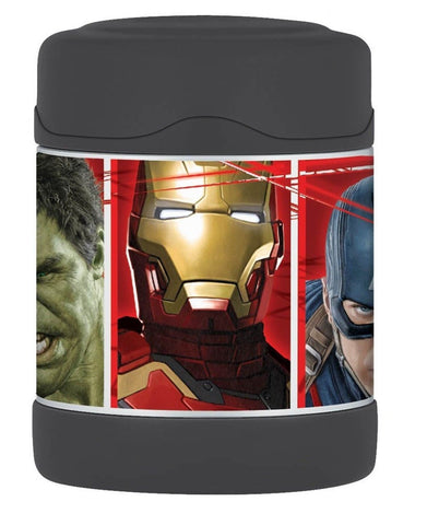 Thermos Funtainer 10 Ounce Food Jar Avengers - Chickadee Solutions - 1